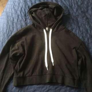 BOTH cropped hoodies