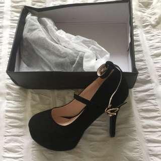Ball heels