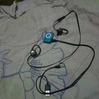 mp3 and samsung bluetooth earphone