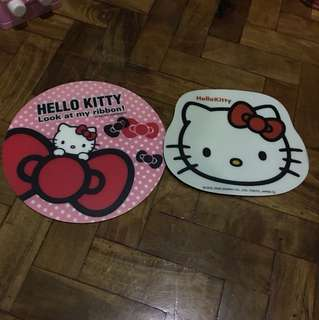 Hello Kitty mouse pads (2)