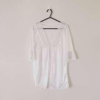 Vintage White Lingerie Nightwear