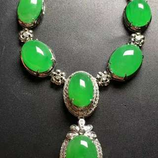 Jade 18K Necklace
