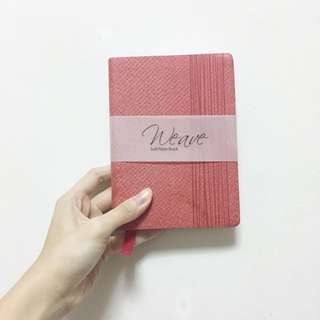 A6 Weave Soft Notebook
