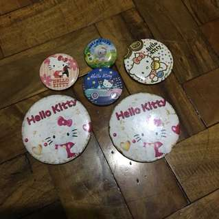 Hello Kitty pins (6)