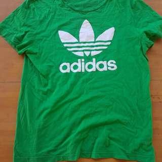 Green Adidas T-shirt
