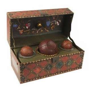 哈利波特 魁地奇珍貴收藏套裝 harrypotter Quidditch set
