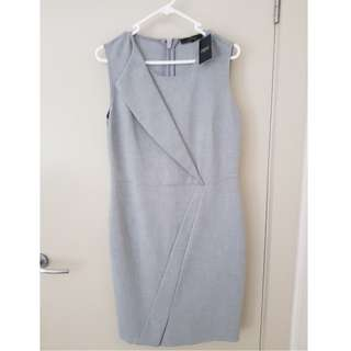 Next Size 12 Grey Dress