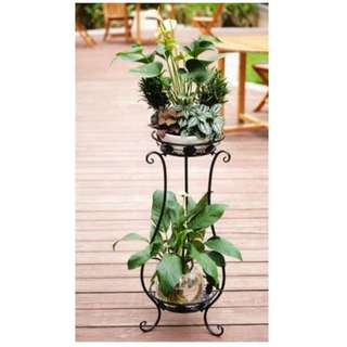 2 level Metal Plant Stand