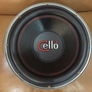 Subwoofer Cello 12'inch