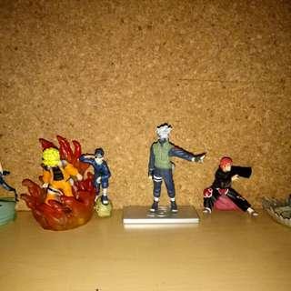 Naruto Gashapons