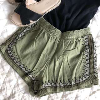 Abercrombie & Fitch XS Shorts High Waisted
