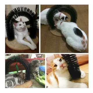 Cat Purrfect Arch - Self groomer & Massage All in one