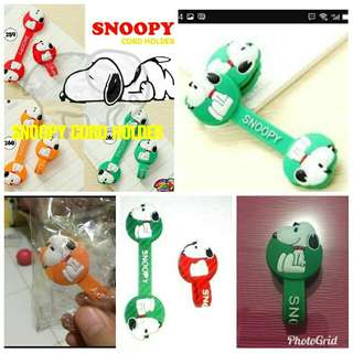 Snoopy cord holder / klip kabel / pengikat kabel / cable winder