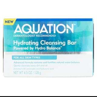 AQUATION HYDRATING BAR SOAP FROM US FOR SENSITIVE SKIN CETAPHIL ALTERNATIVE