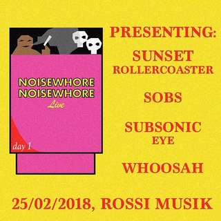 Noisewhore Live Sunset Rollercoaster