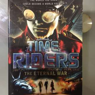 Time Riders - The Pirate Kings, The Eternal War, The Doomsday Code by Alex Scarrow