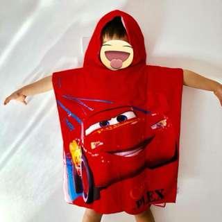 Cartoon Hood Towel for Kids
