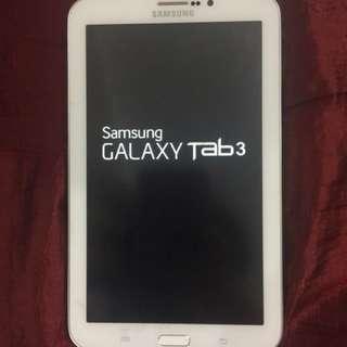 Samsung Galaxy Tab 3 w/ Simslot