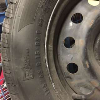 General Altimax RT43 Tires (near new)  - 185/65 R15