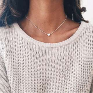 Dainty necklaces (moon/heart/star)
