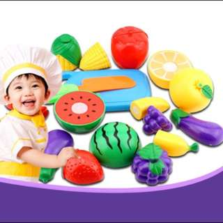 Pretend Play Chef for Children (Cutting up Foods)