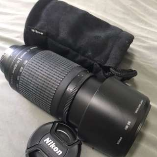 Nikon Nikkor Telephoto Lens 70-300mm
