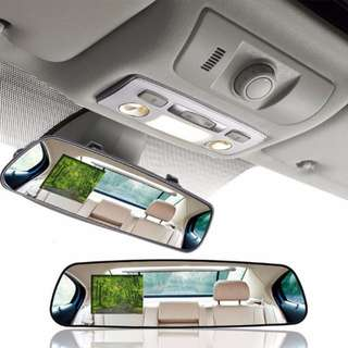 [FREE Delivery] Vehicle Car Camera Video Recorder Rear View Mirror Camcorder DVR