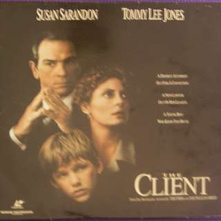 Laser Disc Movie - The Client
