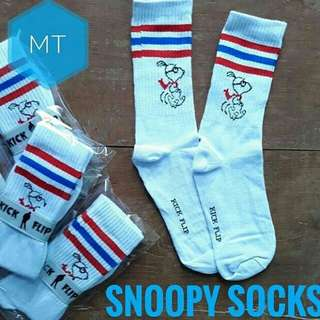 Kaos kaki snoopy sock / old school / kodachi