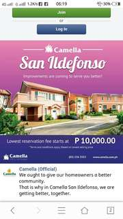 Camella House and Lot!