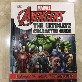 Avengers THE ULTIMATE CHARACTER GUIDE