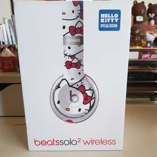 Hello kitty beats solo headphone