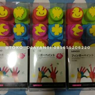 Finger paint With stamp isi 10