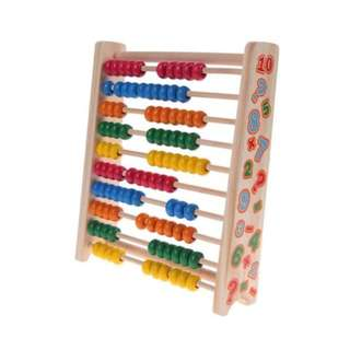 Wooden Math Abacus
