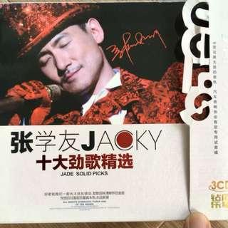 Jacky Cheung 3 cds