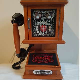 Coca-Cola Nostalgic Wall Phone 2003
