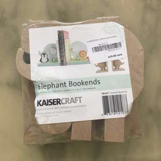 Elephant Bookends (Kaisercraft)