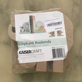 Elephant Bookends (Kaisercraft)