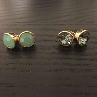 Kate Spade earrings (2 pairs)