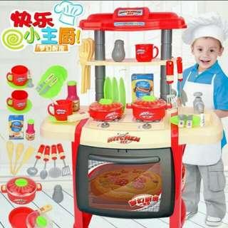 Children kitchen playset