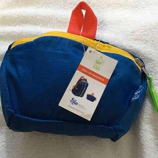 QV foldable nylon backpack