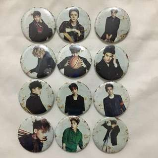 [new] EXO badges