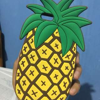 Iphone 6/6s Case pineapple (nanas) softcase/rubbercase