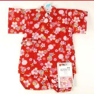 BN Red Festive Jinbei/Kimono