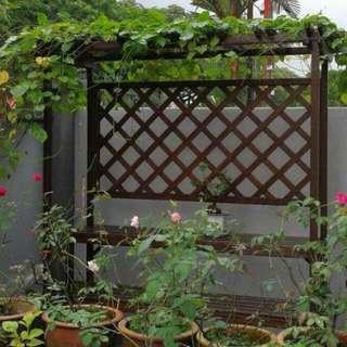 Garden pegola