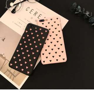 Hard Case Polkadot Love For Iphone 5/5S/6/6S/6plus/7/7plus
