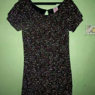 Dress with Glitters