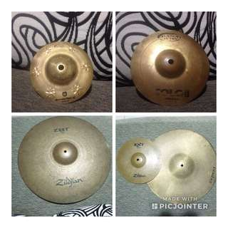 Paket Hemat Cymbal / Cymbal Splah / Cymbal Crash / Cymbal zildjian / Orion Solo Pro / Orion Cymbal Pasha Cymbal