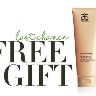 Arbonne free gift