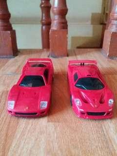 Ferrari F40 and F50